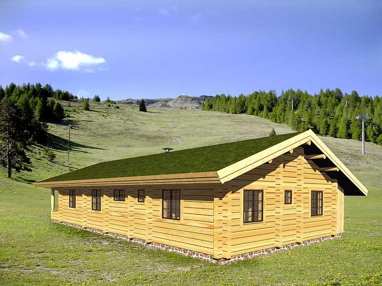 Casa logica il progetto progetti gratuiti cottages bergen for 2 piani cottage storia