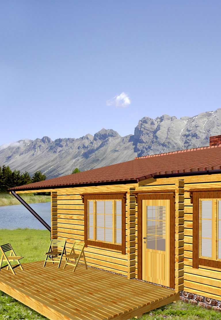 Casa logica il progetto progetti gratuiti cottages edinburgh for Piani casa cottage shotgun