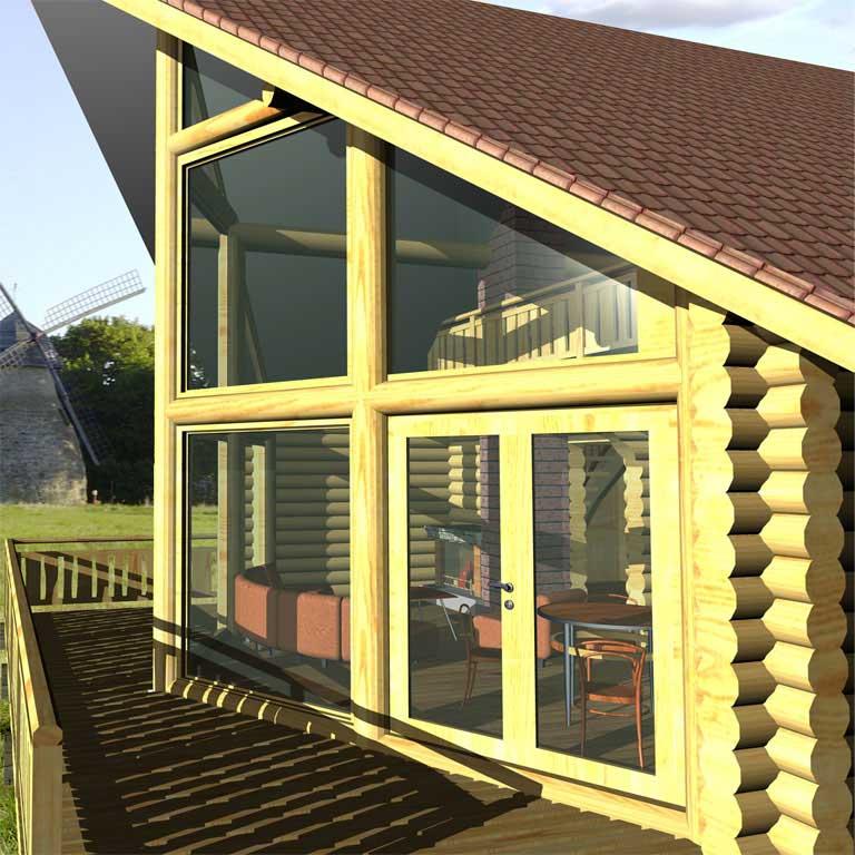 Casa logica il progetto cottages ottawa for Piani di cabina di log gratuiti
