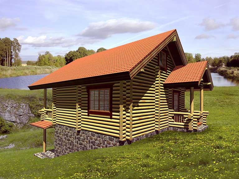 Casa logica il progetto progetti gratuiti cottages rouen for Piani casa cottage acadian