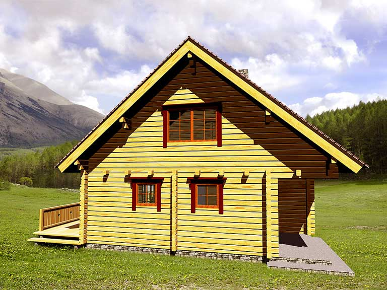 Casa logica il progetto progetti gratuiti cottages valence for Piani casa cottage shotgun